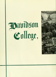 Page 6, 1956 Edition, Davidson College - Quips and Cranks Yearbook (Davidson, NC) online yearbook collection