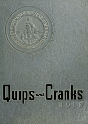 Page 1, 1957 Edition, Davidson College - Quips and Cranks Yearbook (Davidson, NC) online yearbook collection