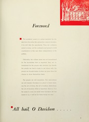 Page 7, 1959 Edition, Davidson College - Quips and Cranks Yearbook (Davidson, NC) online yearbook collection