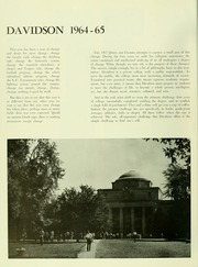 Page 8, 1965 Edition, Davidson College - Quips and Cranks Yearbook (Davidson, NC) online yearbook collection
