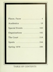 Page 7, 1978 Edition, Davidson College - Quips and Cranks Yearbook (Davidson, NC) online yearbook collection