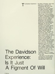Page 8, 1982 Edition, Davidson College - Quips and Cranks Yearbook (Davidson, NC) online yearbook collection