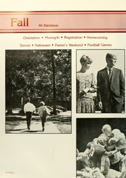 Page 12, 1988 Edition, Davidson College - Quips and Cranks Yearbook (Davidson, NC) online yearbook collection