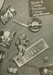 Page 3, 1988 Edition, Davidson College - Quips and Cranks Yearbook (Davidson, NC) online yearbook collection