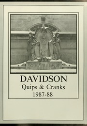 Page 5, 1988 Edition, Davidson College - Quips and Cranks Yearbook (Davidson, NC) online yearbook collection