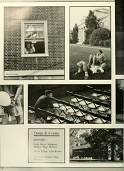 Page 6, 1988 Edition, Davidson College - Quips and Cranks Yearbook (Davidson, NC) online yearbook collection