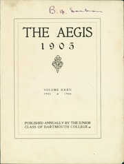 Page 7, 1905 Edition, Dartmouth College - Aegis Yearbook (Hanover, NH) online yearbook collection