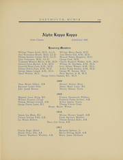 Page 287, 1909 Edition, Dartmouth College - Aegis Yearbook (Hanover, NH) online yearbook collection