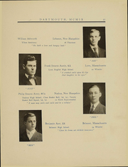Page 60, 1909 Edition, Dartmouth College - Aegis Yearbook (Hanover, NH) online yearbook collection
