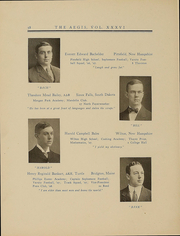 Page 61, 1909 Edition, Dartmouth College - Aegis Yearbook (Hanover, NH) online yearbook collection