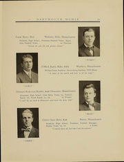 Page 64, 1909 Edition, Dartmouth College - Aegis Yearbook (Hanover, NH) online yearbook collection