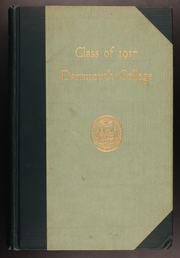 Dartmouth College - Aegis Yearbook (Hanover, NH) online yearbook collection, 1917 Edition, Page 1
