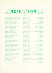 Page 165, 1919 Edition, Dartmouth College - Aegis Yearbook (Hanover, NH) online yearbook collection