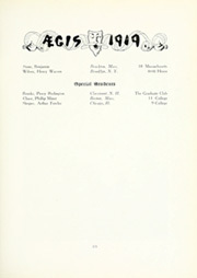 Page 173, 1919 Edition, Dartmouth College - Aegis Yearbook (Hanover, NH) online yearbook collection