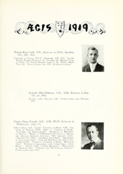 Page 77, 1919 Edition, Dartmouth College - Aegis Yearbook (Hanover, NH) online yearbook collection