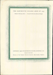Page 8, 1937 Edition, Dartmouth College - Aegis Yearbook (Hanover, NH) online yearbook collection