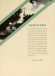 Page 12, 1938 Edition, Dartmouth College - Aegis Yearbook (Hanover, NH) online yearbook collection