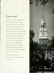 Page 6, 1953 Edition, Dartmouth College - Aegis Yearbook (Hanover, NH) online yearbook collection