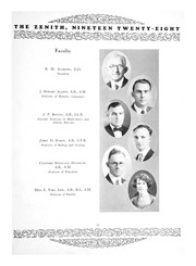 Page 17, 1928 Edition, High Point University - Zenith Yearbook (High Point, NC) online yearbook collection