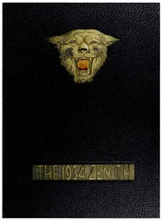 Page 1, 1934 Edition, High Point University - Zenith Yearbook (High Point, NC) online yearbook collection
