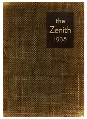 Page 1, 1935 Edition, High Point University - Zenith Yearbook (High Point, NC) online yearbook collection