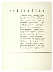 Page 10, 1935 Edition, High Point University - Zenith Yearbook (High Point, NC) online yearbook collection