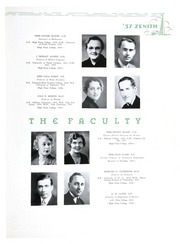 Page 15, 1937 Edition, High Point University - Zenith Yearbook (High Point, NC) online yearbook collection