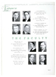 Page 16, 1937 Edition, High Point University - Zenith Yearbook (High Point, NC) online yearbook collection
