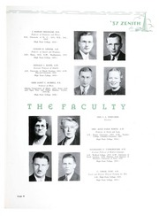 Page 17, 1937 Edition, High Point University - Zenith Yearbook (High Point, NC) online yearbook collection