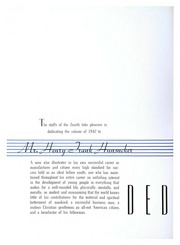 Page 10, 1942 Edition, High Point University - Zenith Yearbook (High Point, NC) online yearbook collection