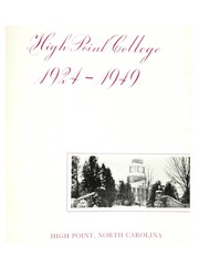 Page 5, 1949 Edition, High Point University - Zenith Yearbook (High Point, NC) online yearbook collection