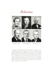 Page 9, 1949 Edition, High Point University - Zenith Yearbook (High Point, NC) online yearbook collection