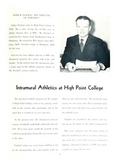 Page 101, 1955 Edition, High Point University - Zenith Yearbook (High Point, NC) online yearbook collection