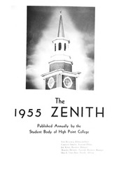 Page 5, 1955 Edition, High Point University - Zenith Yearbook (High Point, NC) online yearbook collection