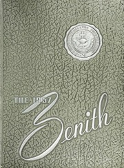 Page 1, 1957 Edition, High Point University - Zenith Yearbook (High Point, NC) online yearbook collection