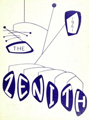 Page 1, 1961 Edition, High Point University - Zenith Yearbook (High Point, NC) online yearbook collection