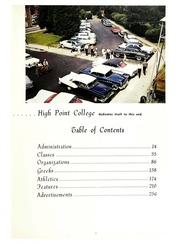Page 17, 1961 Edition, High Point University - Zenith Yearbook (High Point, NC) online yearbook collection