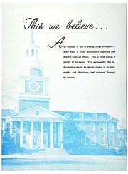 Page 6, 1961 Edition, High Point University - Zenith Yearbook (High Point, NC) online yearbook collection