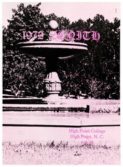 Page 5, 1972 Edition, High Point University - Zenith Yearbook (High Point, NC) online yearbook collection