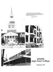 Page 5, 1980 Edition, High Point University - Zenith Yearbook (High Point, NC) online yearbook collection