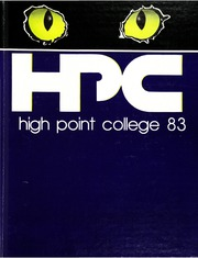 1983 Edition, High Point University - Zenith Yearbook (High Point, NC)