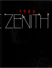 1986 Edition, High Point University - Zenith Yearbook (High Point, NC)