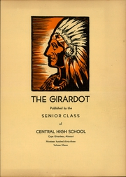 Page 3, 1933 Edition, Central High School - Girardot Yearbook (Cape Girardeau, MO) online yearbook collection