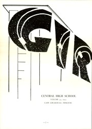 Page 6, 1953 Edition, Central High School - Girardot Yearbook (Cape Girardeau, MO) online yearbook collection
