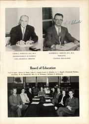 Page 15, 1955 Edition, Central High School - Girardot Yearbook (Cape Girardeau, MO) online yearbook collection