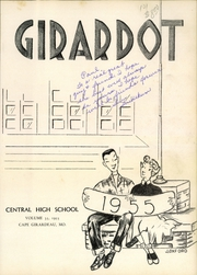 Page 5, 1955 Edition, Central High School - Girardot Yearbook (Cape Girardeau, MO) online yearbook collection