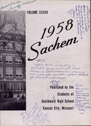 Page 7, 1958 Edition, Southwest High School - Sachem Yearbook (Kansas City, MO) online yearbook collection