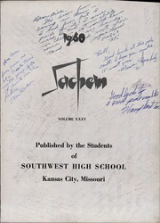 Page 7, 1960 Edition, Southwest High School - Sachem Yearbook (Kansas City, MO) online yearbook collection