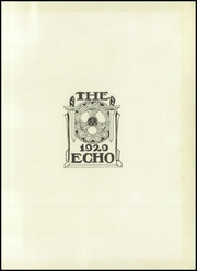 Page 5, 1929 Edition, Webster Groves High School - Echo Yearbook (Webster Groves, MO) online yearbook collection