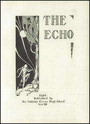 Page 7, 1929 Edition, Webster Groves High School - Echo Yearbook (Webster Groves, MO) online yearbook collection